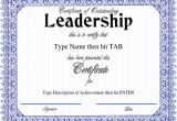Leadership Certificate Templates Word Leadership Certificate Template 8 Free Word Pdf Psd