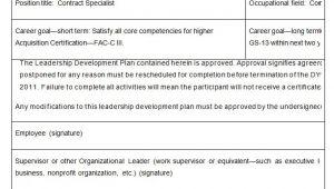 Leadership Development Proposal Template Leadership Development Plan Template 8 Free Word Pdf