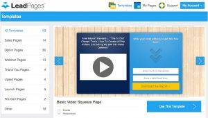 Leadpages Free Templates How to Create A Landing Page with Leadpages In 3 Easy