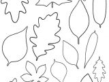 Leaf Cut Outs Templates Enable Me Free Paper Leaf Template Mistyhilltops