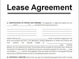 Leasing Contract Template Sample Lease Agreement for Renting A House Google Search