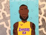 Lebron James Happy Birthday Card 126 Best the Paper Hug Factory Images In 2020 Cards Card