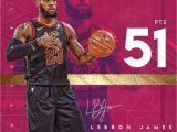Lebron James Happy Birthday Card Despite the Loss Lebron Put Up A Nbafinals Career High In