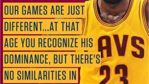 Lebron James Happy Birthday Card Lebron S 32nd Birthday Wish No Michael Jordan Comparions