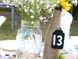Lee S Flower and Card Shop Elegant Country Wedding Table Centerpieces Mason Jar and