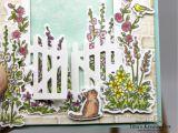 Lee S Flower and Card Shop Geburtstagskarte Geheimnisvoller Garten Mit Produkten