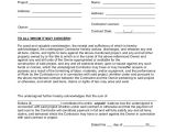 Lein Template 8 Lien Waiver forms Sample Templates