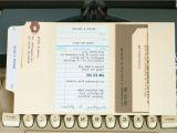Library Card Wedding Invitation Template 77 New Vera Wang Wedding Invitations 2017 Check More at