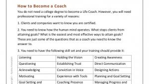 Life Coach Business Plan Template How to Become A Life Coach Kick Start Guide to Coaching