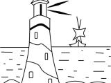 Lighthouse Template Craft Lighthouse Coloring Pages for Kids Images Crafts Two