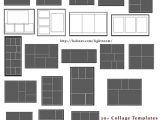 Lightroom Photo Book Templates 20 Collage Templates Free Lightroom Templates
