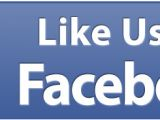 Like Us On Facebook Sticker Template Facebook Like Us Sign Template Driverlayer Search Engine