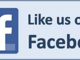 Like Us On Facebook Sticker Template Like Us On Facebook Logo for Print Pictures to Pin On
