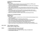 Linux Engineer Resume Senior Linux Systems Engineer Resume Samples Velvet Jobs