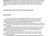Linux Resume Sample solaris Linux Administrator Resume Nj