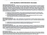 Linux Resume Sample System Administrator Resume Includes A Snapshot Of the