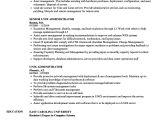 Linux Resume Sample Unix Administrator Resume Samples Velvet Jobs