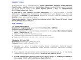 Linux Resume Sample Vmware Linux Administrator