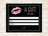 Lipsense Gift Certificate Template Free Editable Lipsense Gift Certificate Lipsense Senegence