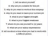 List Job Interview On Resume How to Answer the Most Common Interview Questions the