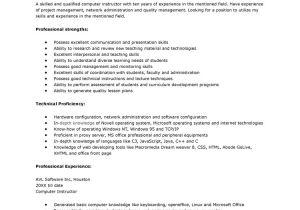 List Of Basic Skills for Resume 13 Computer Skills Resume Samplebusinessresume Com