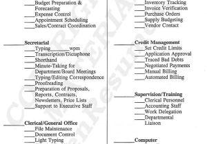 List Of Basic Skills for Resume Resume Skills and Ability Officer Manager Resume Skills