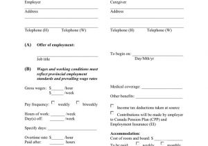 Live In Caregiver Contract Template Nanny Contract Template In Word and Pdf formats