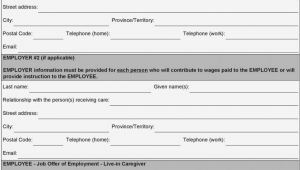 Live In Caregiver Contract Template This Story Behind Live In Caregiver form Information