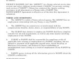 Live In Nanny Contract Template 12 Nanny Contract Templates Word Docs