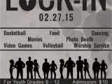 Lock In Flyer Template Submit Your Permission Slip by February 20 for the Youth