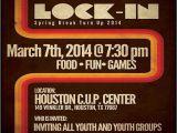 Lock In Flyer Template Youth Lock In Flyer Visual Identity Work Pinterest