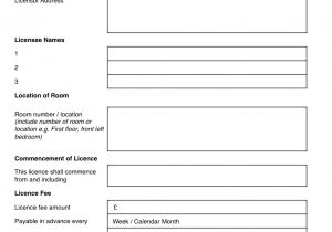Lodger Contract Template Excluded Licence Lodger Agreement Grl Landlord association