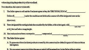 Logging Contract Template Create A solid Timber Sale Contract with This Sample