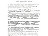 Logging Contract Template Logging Agreement Related Keywords Logging Agreement