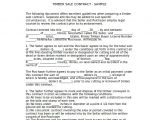 Logging Contract Template Simple Contract Template 9 Download Free Documents In