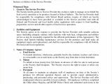 Logistics Contract Template Logistics Service Level Agreement Template Advanced 50