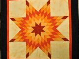 Lone Star Quilt Pattern Template that forthright Girl orange Lone Star Quilt