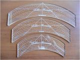 Long Arm Quilting Templates Rulers Acrylic Templates for Longarm Quilting Templates