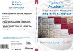 Long Arm Quilting Templates Rulers Handi Quilter Longarm Basics Using Rulers Templates Dvd