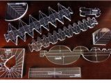 Long Arm Quilting Templates Rulers Westalee Templates for Domestic and Longarm Machines