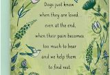 Lost America the Beautiful Card Hallmark Sympathy Loss Of Dog Card Dogs Just Know