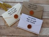 Lottery Scratch Card Wedding Favours Personalised Wedding Favour Scratch Card or Lottery Ticket
