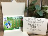 Lottery Scratch Card Wedding Favours Pin On Lottery Scratch Card Holders