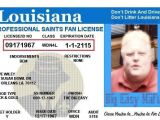 Louisiana Id Template Louisiana Id Template Images Template Design Ideas