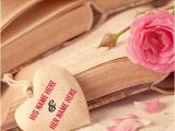Love Card with Name Edit Love Greetings Card Name Picture with Cute Couple Name