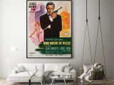 Love From In French for A Card Boris Grinsson From Russia with Love 1963 Rock Paper Film