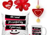 Love From Me Gift Card Indigifts Love Gift 0d 0cm066 0lov Y16 D097 Cushion Mug Showpiece soft toy Greeting Card Gift Set