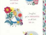Love Her Ka Greeting Card Alice In Wonderland Birthday Card Daughter Sister