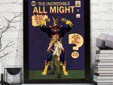Love Nikki Joker and Magic Card My Hero Academia All Might A4 Digital Download Retro