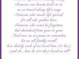 Love Poem for Wedding Card In Loving Memory Cards In 2020 Wedding Memorial Poems